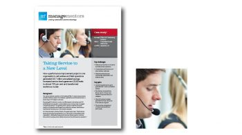 FTSE 100 IT Outsourcing Company