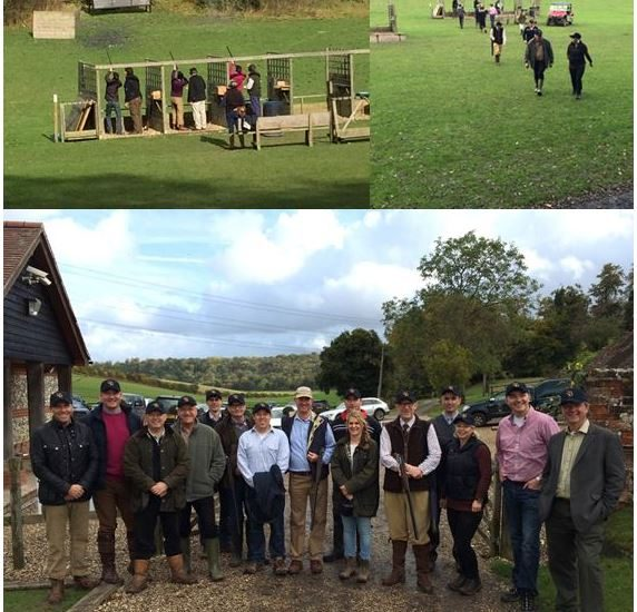Managementors Attends A Clay Pigeon Shoot At The Royal